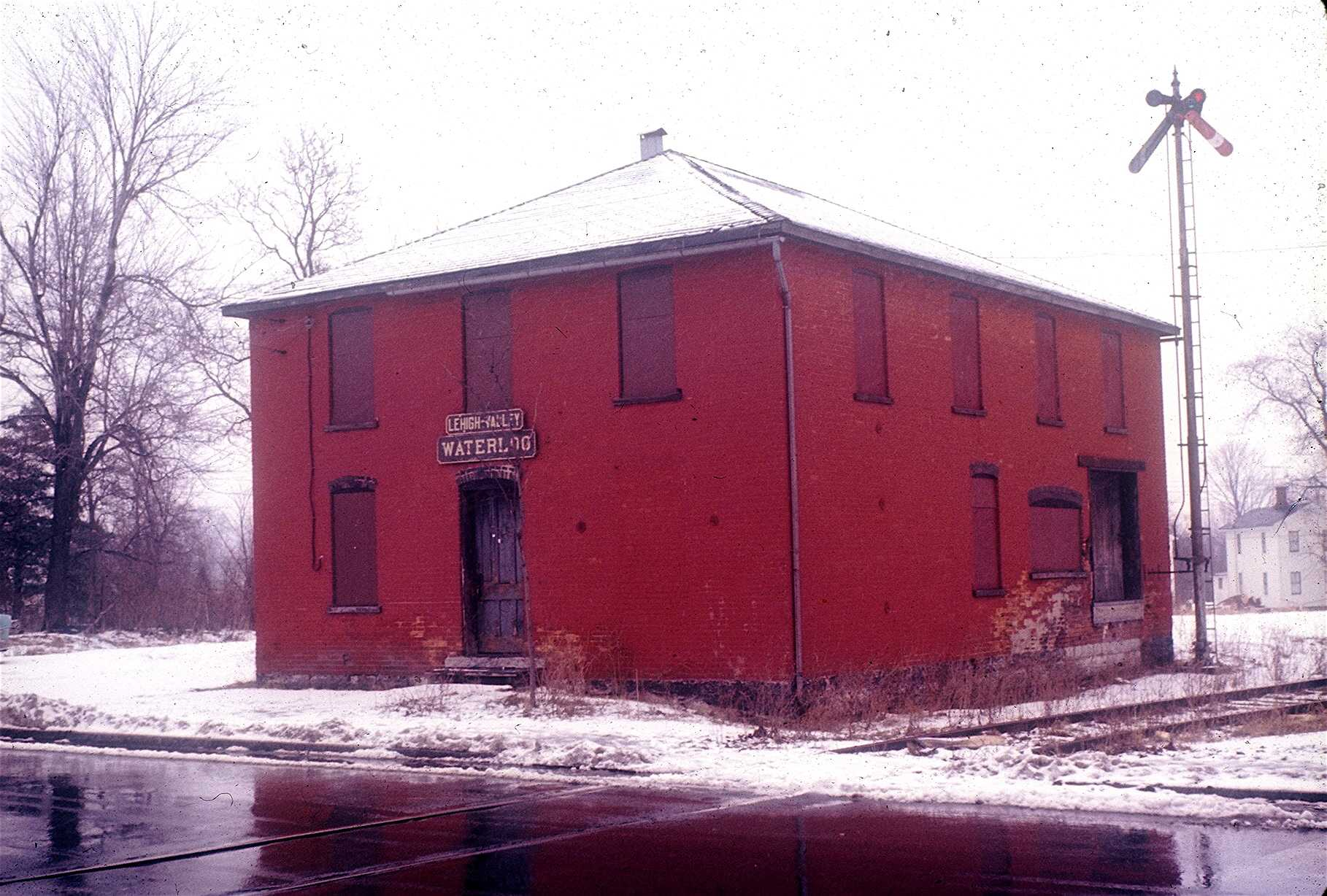 Waterloo, N.Y.depot-1966